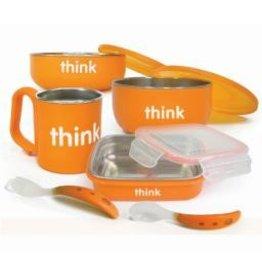 Thinkbaby Complete BPA Feeding Set - Orange