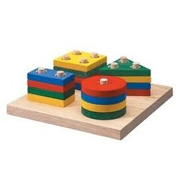 Plantoys Plantoys Geometric Sorting Board - Sustainable