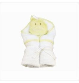 ecobaby Under the Nile - Hooded Towel and Duck Wash Cloth Set
