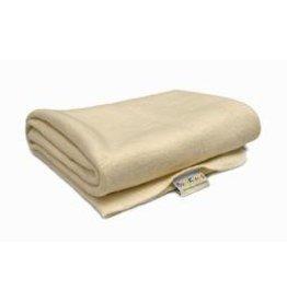 Baby Kicks Baby Kicks - Organic Cotton/Hemp Receiving Blanket-natural