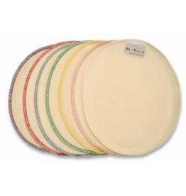 ecobaby Baby Kicks - Organic Cotton/Hemp Washies (Wipes) - 10pk-white