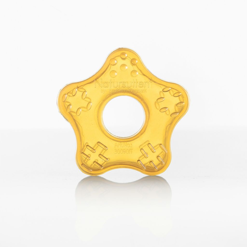 Natursutten Natural Rubber Teether Toy Star