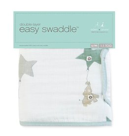 Aden + Anais Aden + Anais - up, up, and away- Classic Easy Swaddle - s/m