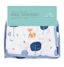 Aden + Anais Aden + Anais - Into the Woods- Organic Easy Swaddle- s/m