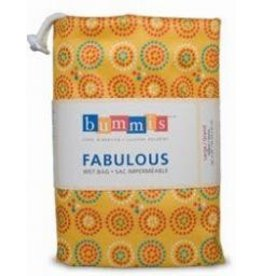 Bummis Fabulous Wet Bags - Large Hanging Diaper Pail - Yellow