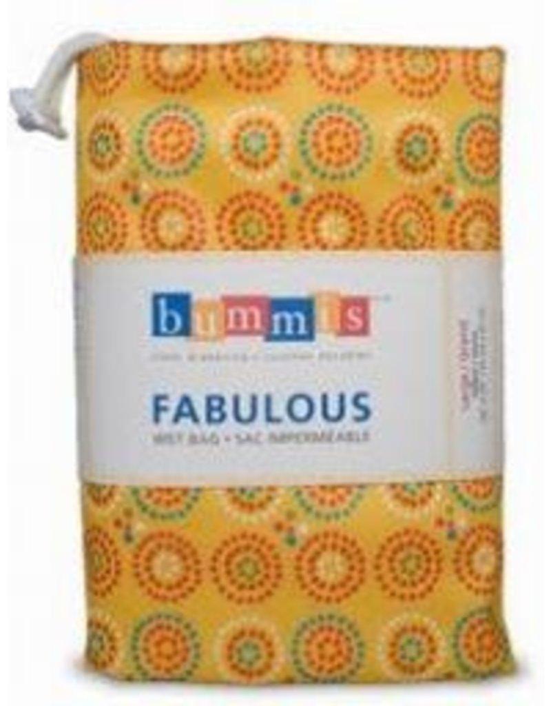 Bummis Fabulous Wet Bags - Large Hanging Diaper Pail - Yellow