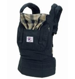 ecobaby Ergo Carrier - Organic Highland Navy Plaid Baby Carrier