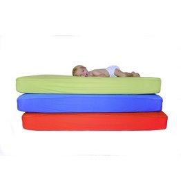 B-Sensible B-Sensible - 2 in 1 Crib  Waterproof Sheet - Blue  --AA