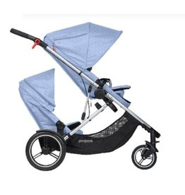 Phil & Teds | Mountain Buggy Phil&Teds- Voyager Travel Stroller- Blue Mari