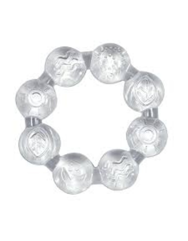 i play Cooling teether (2 pk) clear  3 mo