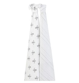 Aden + Anais Aden + Anais- 10th anniversary 2-pack classic swaddles