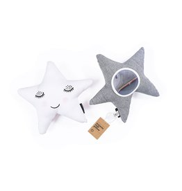 Wee Gallery Organic Star Pillow with Mirror