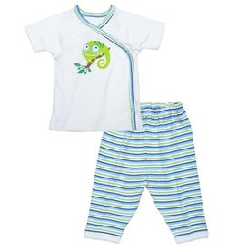 Under the Nile Under the Nile- Short sleeved Layette set