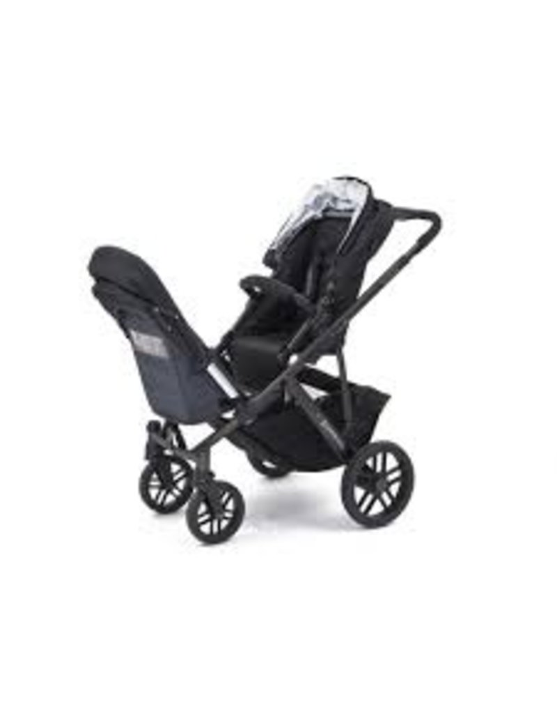 UPPAbaby RumbleSeat for Vista - Jake (Black/Carbon)