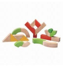 Plantoys Plantoys Twisted Blocks Set (35mm)