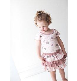 L'ovedbaby Organic Cotton Ruffle Skirt
