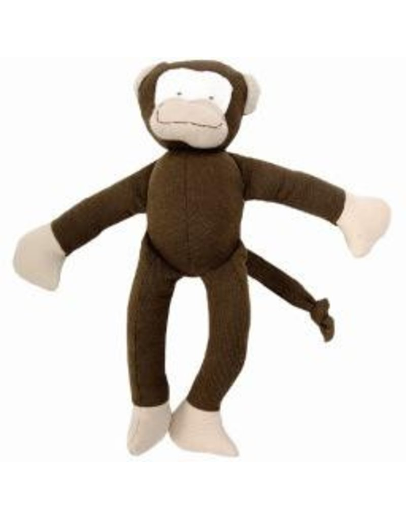 Under the Nile Brown/Beige Monkey, organic GOTS