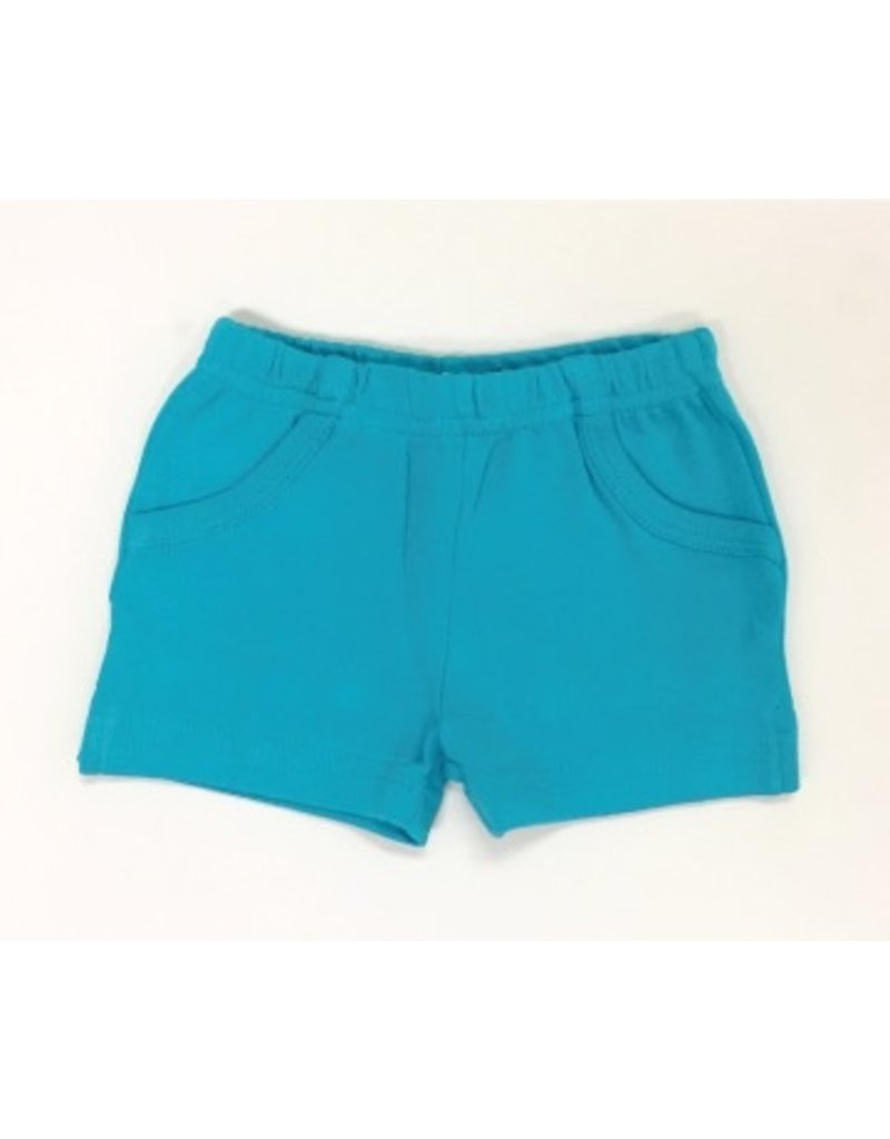 L'ovedbaby Organic Shorts, Teal