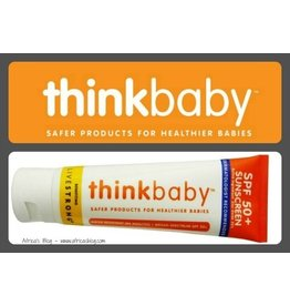 Thinkbaby Safe Sunscreen - SPF 50+ 3oz