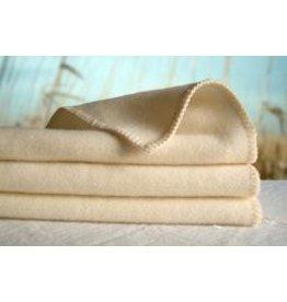 "Organic Caboose Organic Caboose - Fine Organic Wool PLUSH Baby Blanket - 28"" x 34"""