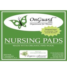 Organic Caboose On Guard -Merina Wool Nursing Pads