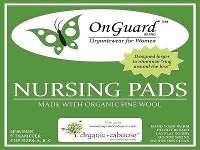 Organic Caboose On Guard -Merina Wool Nursing Pads