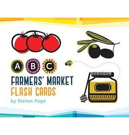 Chronicle Books ABC Farmers' Market Flash Cards by Stefan Page