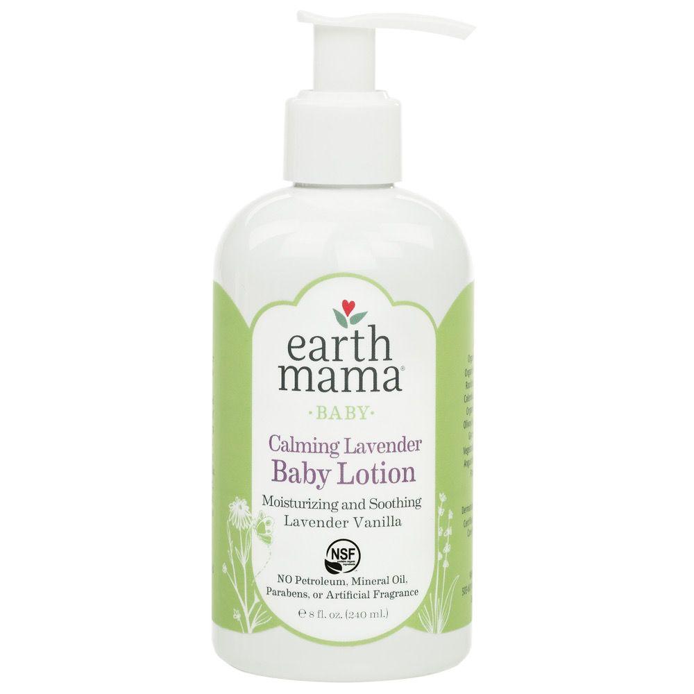 Earth Mama Organics Calming Lavender Baby Lotion - 8 oz