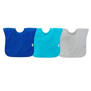 i play Pull-over Stay Dry Bib (3 pack) 9 - 18 mos