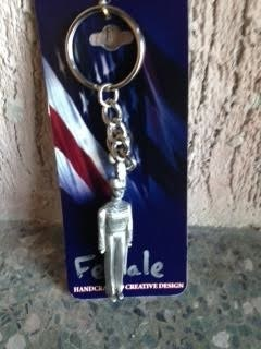 Female Cadet Keychain
