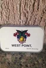 Tin of Mints with West Point Seal