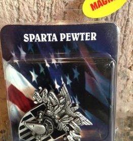 USMA Crest Pewter Magnet