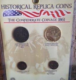 The Confederate Coinage 1861