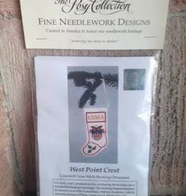 West Point Crest Stocking (Cross Stitch Kit)