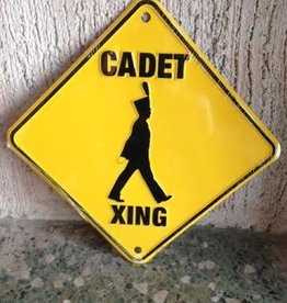 Cadet Crossing Sign