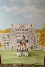 Color Guard Greeting Card