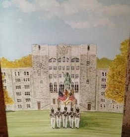Color Guard Watercolor Card