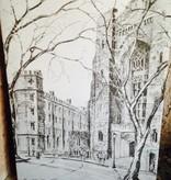 Verner Notecard: Washington Hall and Barracks