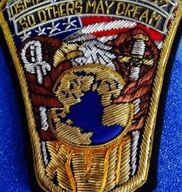 USMA 2017 Crest Bullion Patch. Custom Made.