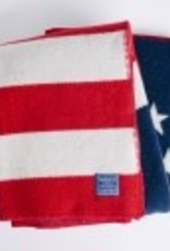 Betsy Ross Flag Woolen Blanket (45 X 72) DRY CLEAN ONLY