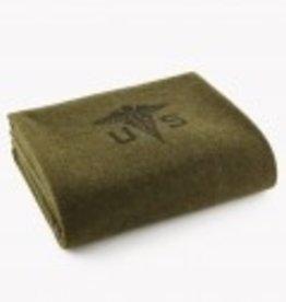 Army Medic Faribault Woolen Mills Blanket (66 x 90 inches)