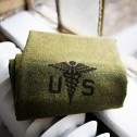 Foot Soldier Army Medic Blanket (Faribault Woolen Mills)