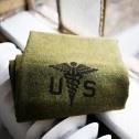 Foot Soldier Army Medic Blanket