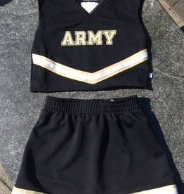 V-Neck Cheer Outfit (3 Piece)