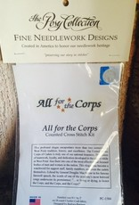 """All for the Corps"" Counted Cross Stitch"