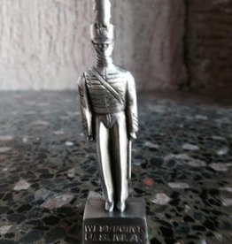 2 Inch Pewter Color Female Cadet Figure