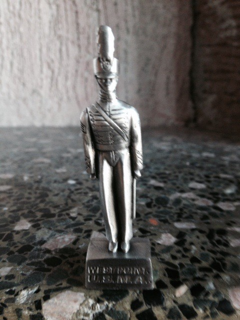 Small Pewter Female Cadet Figure (2.5 inch)