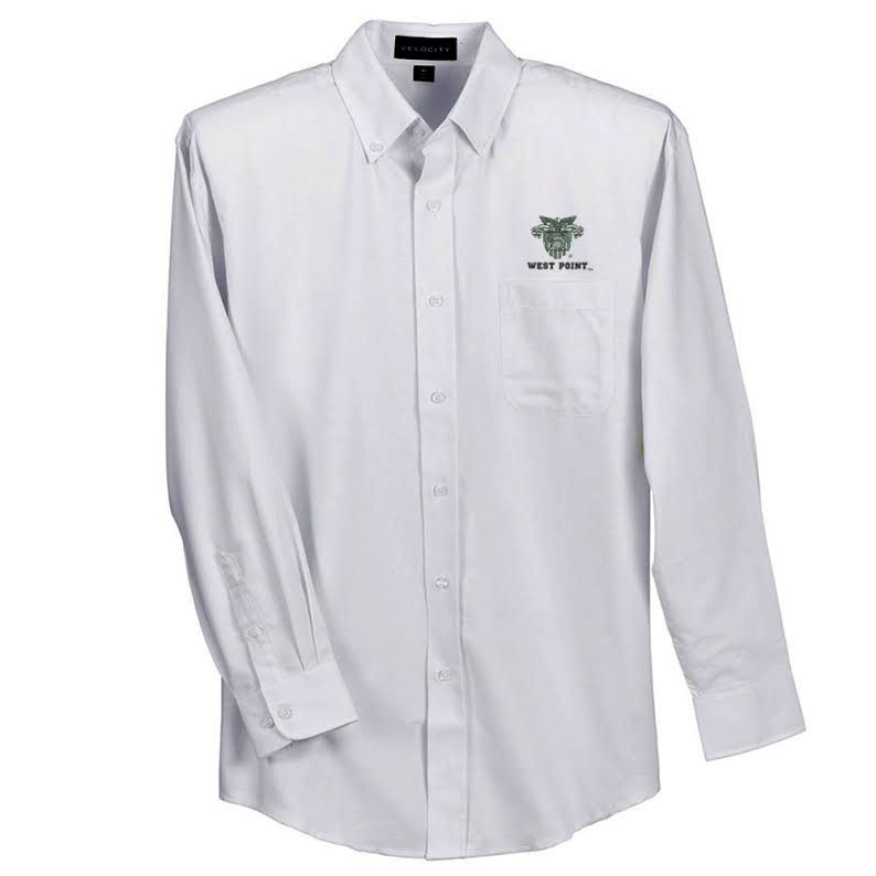 Classic Oxford Shirt with USMA Crest and WEST POINT on left chest