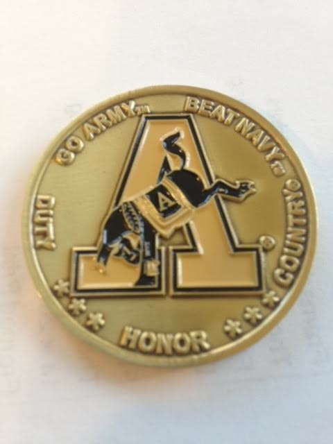 Mule Challenge Coin