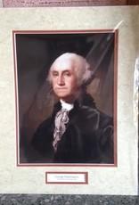George Washington (11 x 14, Matted Print)
